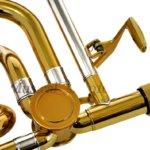 trigger trombone rotary valve
